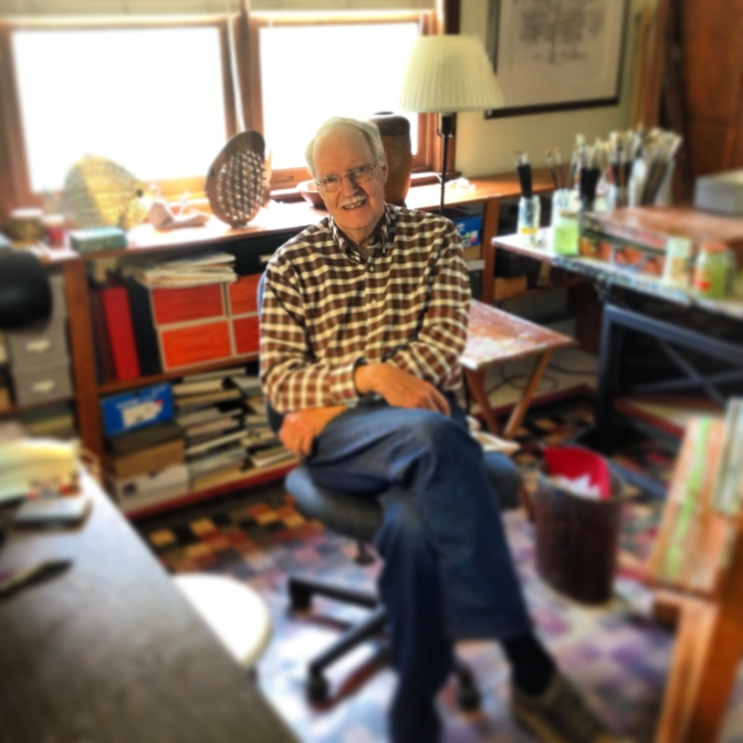 rod-wells-in-his-studio